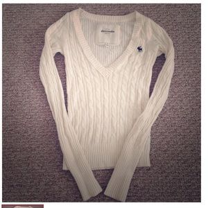 Abercrombie and Fitch cable sweater